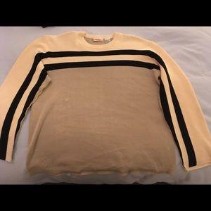Vintage striped sweater, 100%cotton